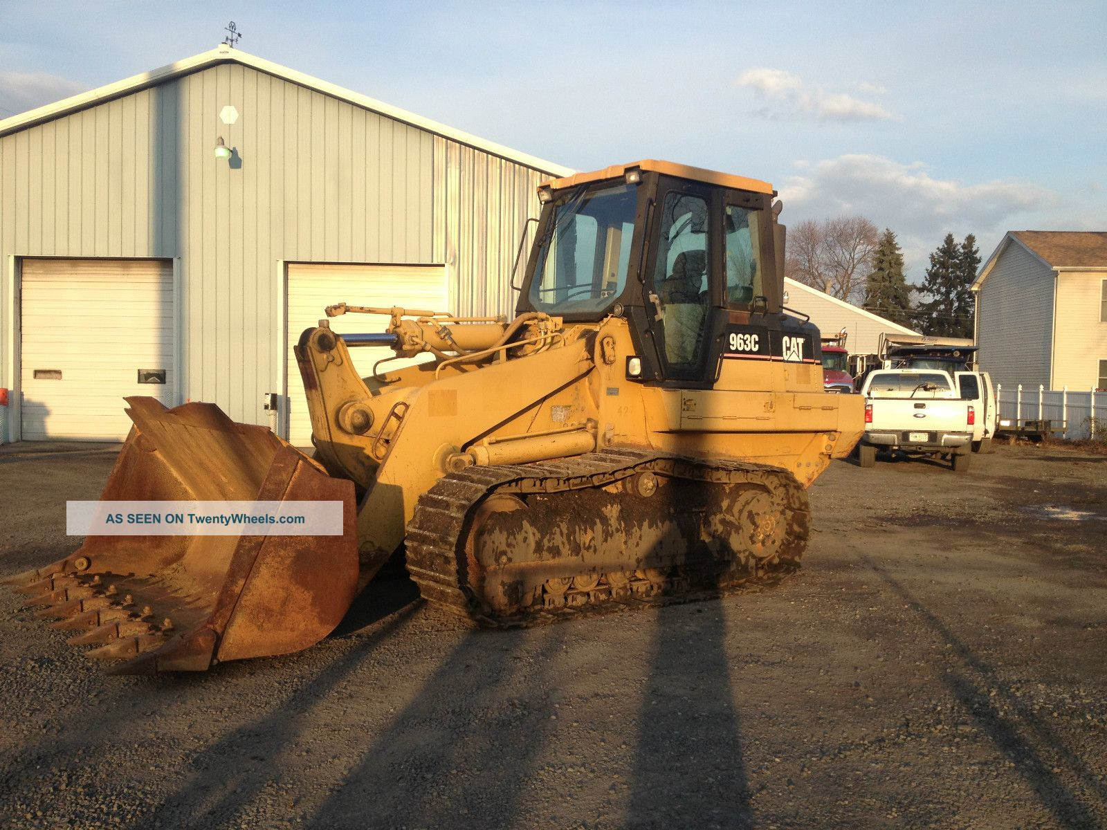 2000 Caterpillar 963c Track Loader Cat 963 C Crawler Loader Crawler Dozers & Loaders photo