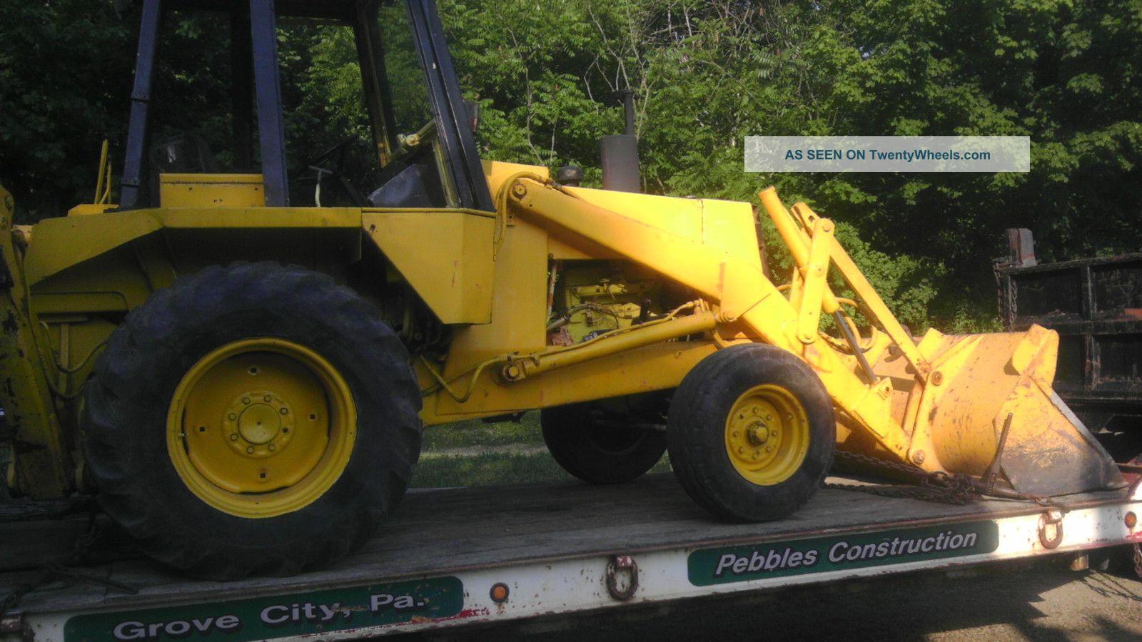 Case Tractor Backhoe 580c Diesel Loader Forklift Excavator Industrial Machine Backhoe Loaders photo