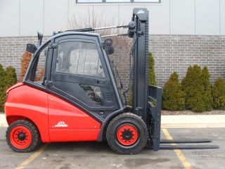 2005 Linde H50d 11000 Lb Capacity Forklift Lift Truck Pneumatic Tire photo