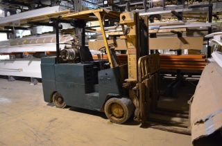 Allis - Chalmers 10,  000 Lbs Capacity Double Mast Forklift photo