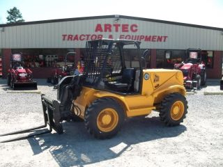 2005 Jcb 520 Telescopic Forklift - Loader Lift Tractor - Tires - 16 ' Reach photo