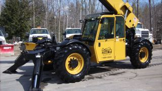 2008 Caterpillar Cat Tl1055 Telehandler Forklift Jlg Lull Full Cab Telescopic photo