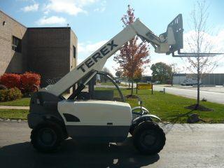2006 Terex Genie Tx 5519 Compact Reach Forklift Telehandler Gth5519 photo