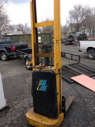 Big Joe Forklift Electric Pallet Jack photo