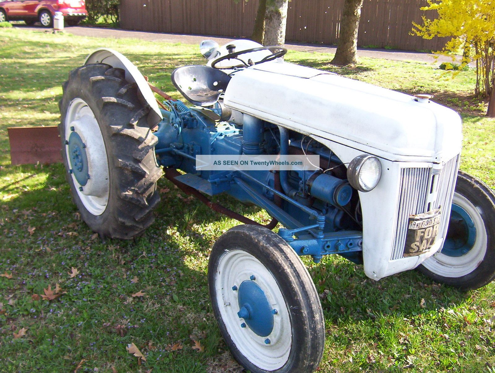 Ford 9n Mower : Ford n tractor specs