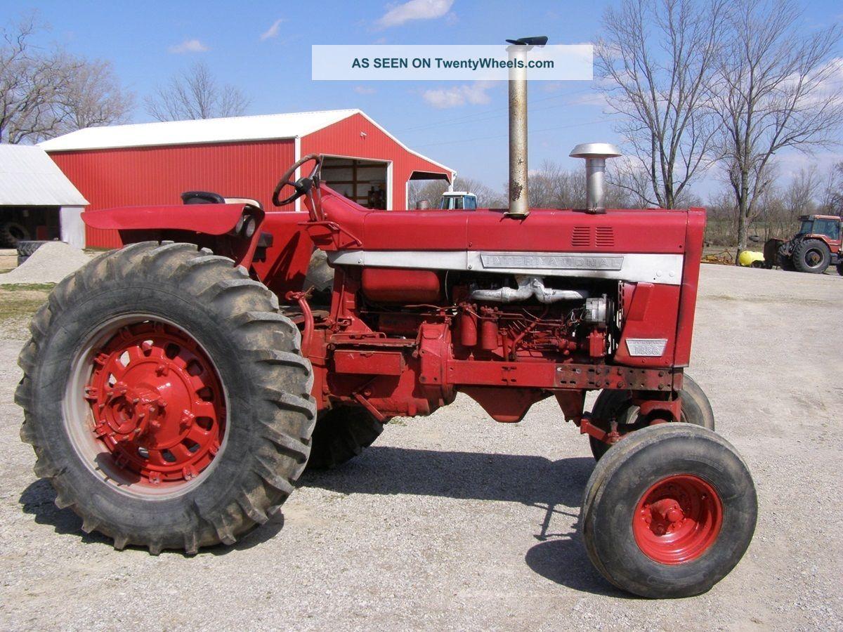 Ih 1456 Tractor : International