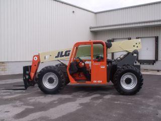 Jlg G6 - 42a Telescopic Telehandler Forklift Lift Fresh Paint & Service photo