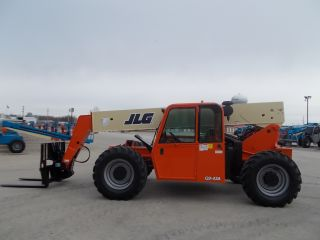 2003 Jlg G9 - 43a Telescopic Telehandler Forklift Lift 9000 Lb Capacity Heated Cab photo