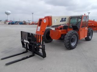 2005 Jlg G9 - 43a Telescopic Telehandler Forklift Lift 9000 Lb Capacity Heated Cab photo