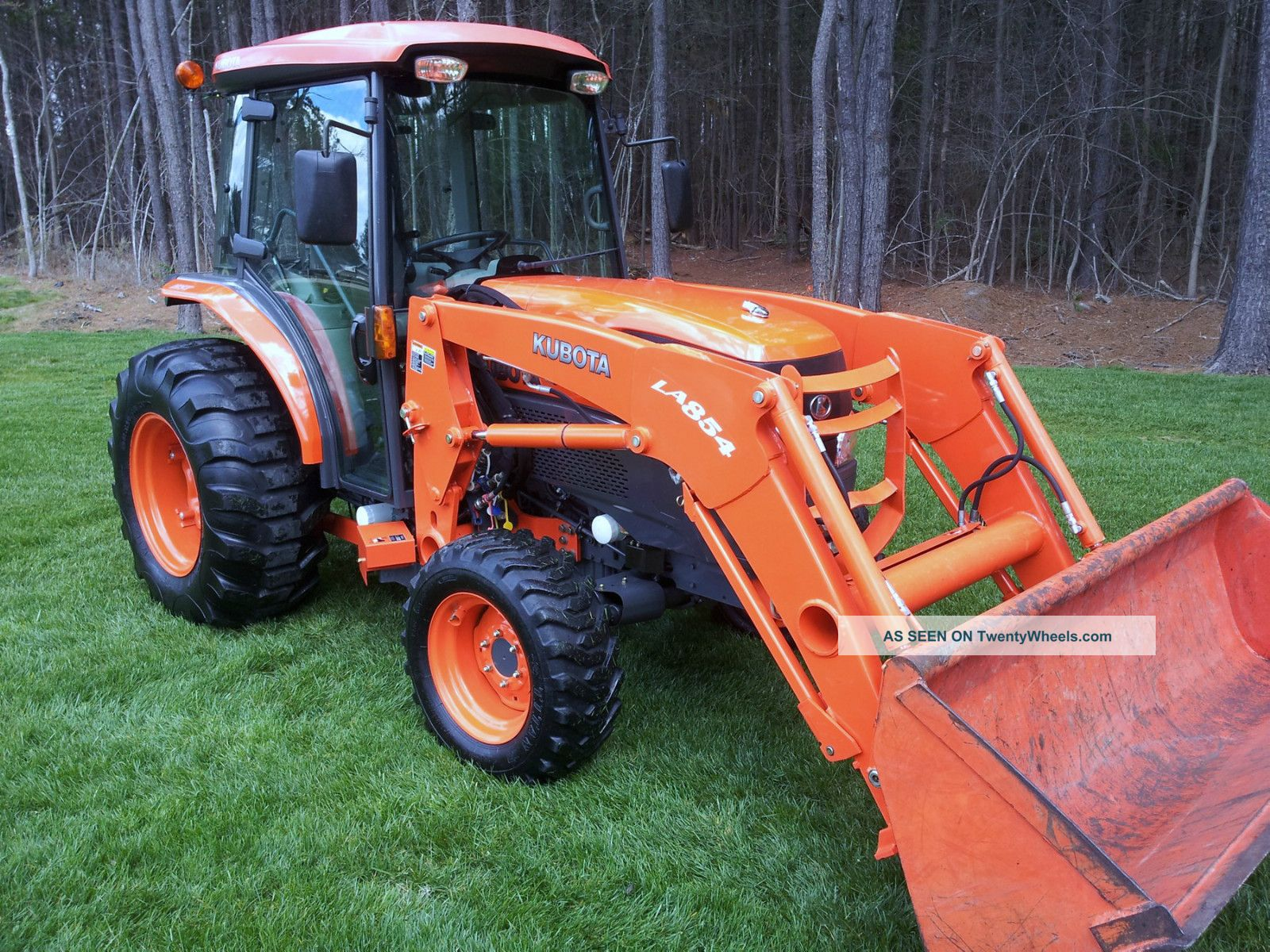 2008 Kubota L5240 Hstc 413 Hours Hydrostatic Transmission Tractors photo