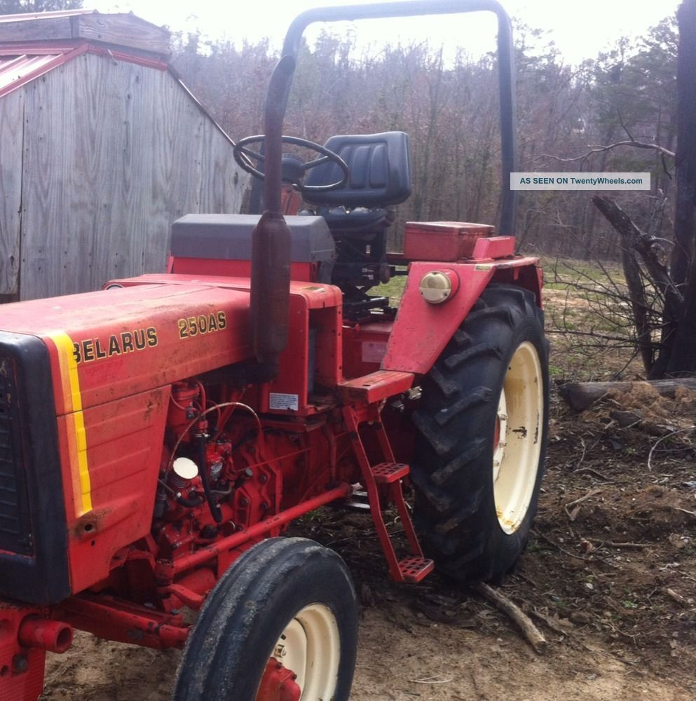 Belarus 250as Tractor.  Runs And Drives Good.  Rear Remote Good Tractor.  Cheap Tractors photo