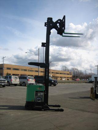 2003 Mitsubishi Forklift Reach Truck 4000lb 211