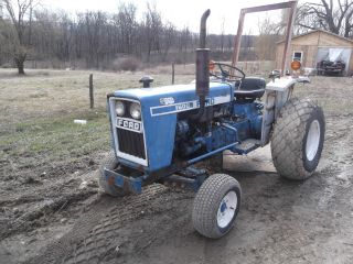 Ford 1600 Compact Diesel Tractor photo