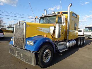 1994 Kenworth W900 Tri Axle Heavy Hauler Truck photo