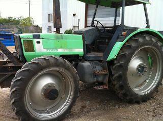 Deutz Allis 7085 4wd Tractor Kubota Holland Case photo