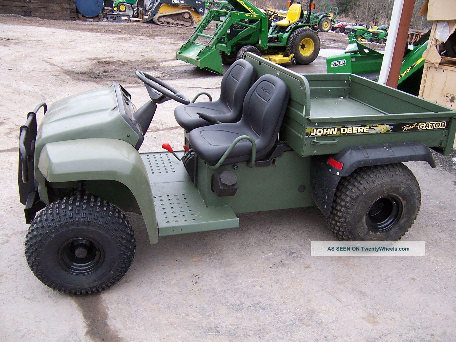 John Deere 4x2 Trail Gator Utility Vehicles photo