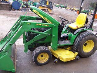 John Deere 4100 Compact Tractor photo