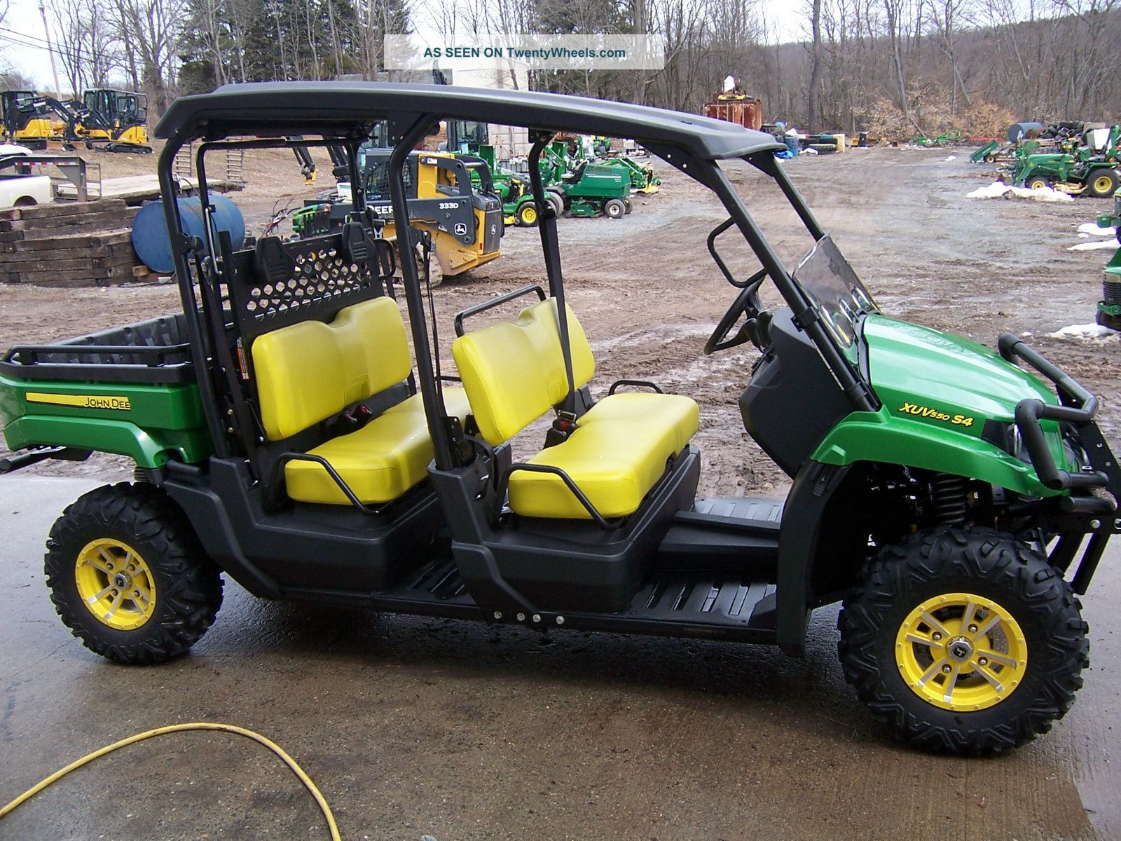 John Deere Xuv 550 S4 Utility Vehicles photo