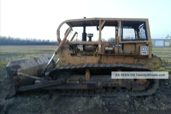 1972 Caterpillar D6c Lgp Dozer Crawler Dozers & Loaders photo