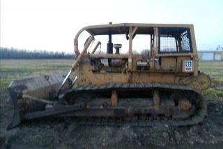 1972 Caterpillar D6c Lgp Dozer photo