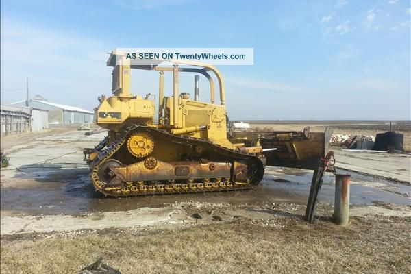 1991 Caterpillar D5h Lgp Ii Dozer Crawler Dozers & Loaders photo