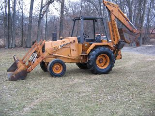 580 C Case Backhoe photo