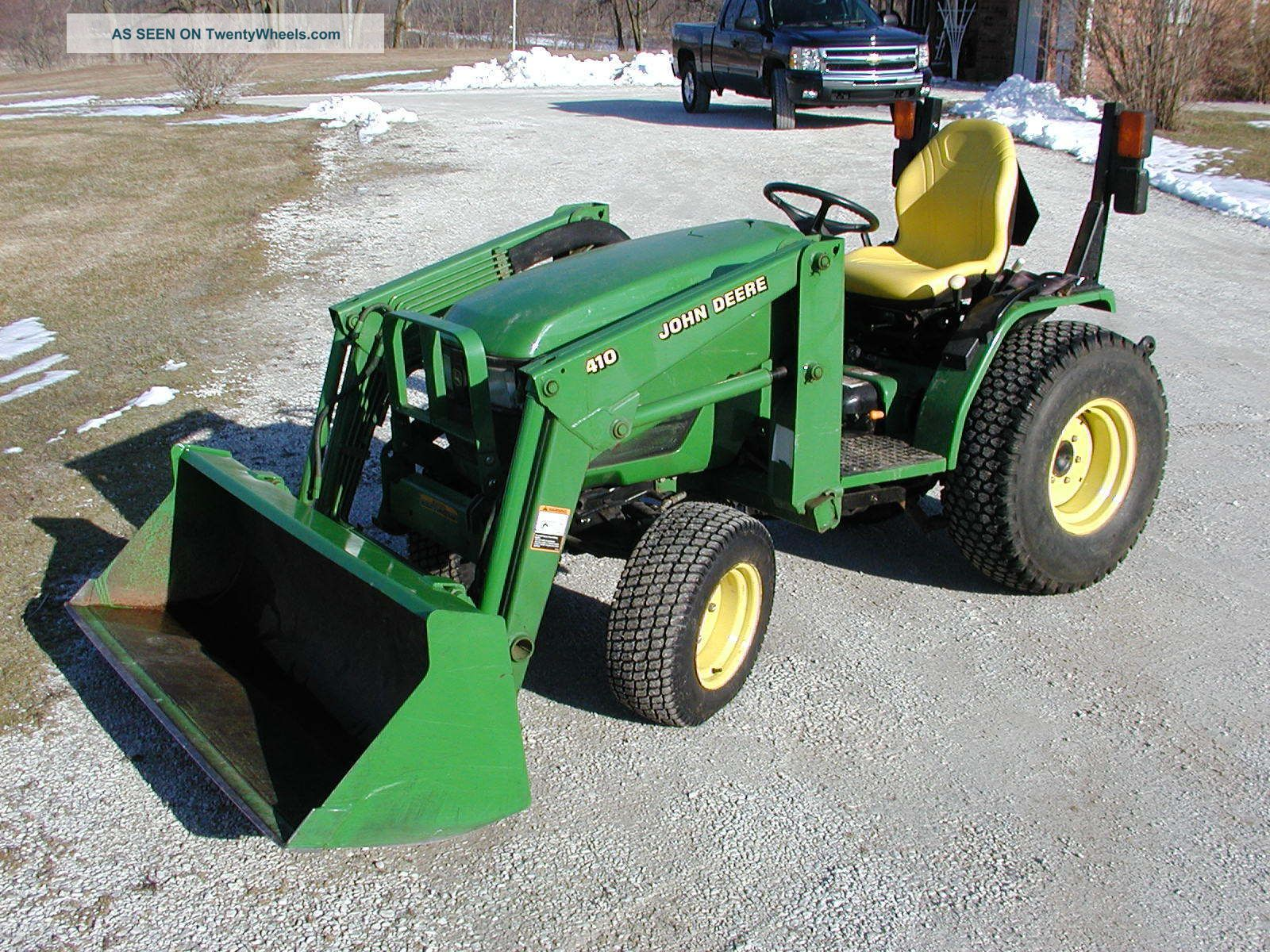 Used Lawn Tractor With Front Loader : Front end loader for john deere tractor pokemon go