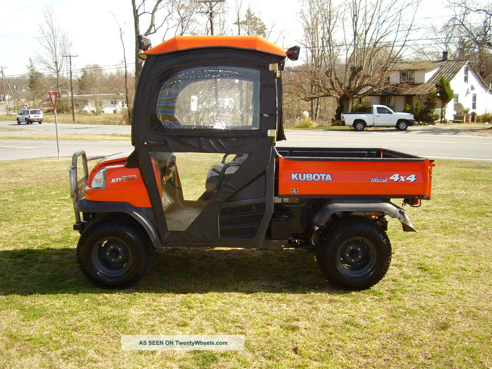 Kubota Rtv 900 Enclosed Cab With Heat 4x4 Only 293 Hours Utility Vehicles photo