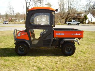 Kubota Rtv 900 Enclosed Cab With Heat 4x4 Only 293 Hours photo