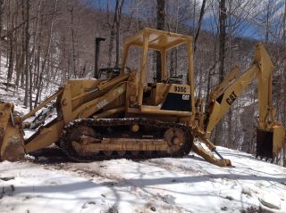 Caterpillar 935c Crawler Loader And Backhoe 4/1 Bucket photo
