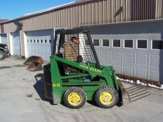 John Deere 60 Skid Steer photo