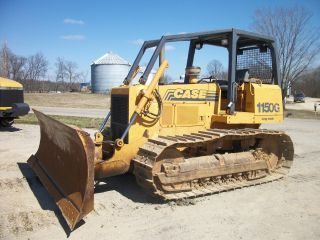 1999 Case 1150g Lt Dozer 6 - Way Blade 28,  000lbs 125hp Crawler Cat photo