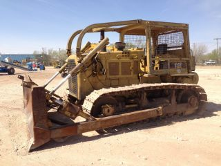 Caterpillar D6d Crawler Dozer Loader Tractor Cat D 6 D 4 Way Blade photo