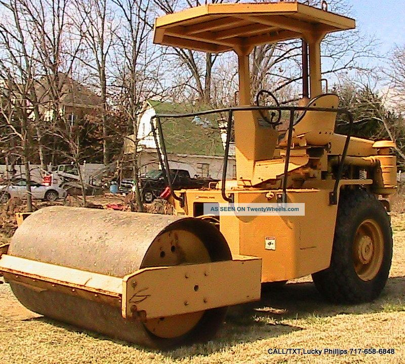 Ingersoll Rand Sp42 Single Vibratory Drum Roller Compactor Detroit Diesel Compactors & Rollers - Riding photo