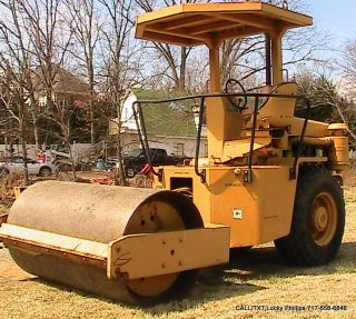 Ingersoll Rand Sp42 Single Vibratory Drum Roller Compactor Detroit Diesel photo