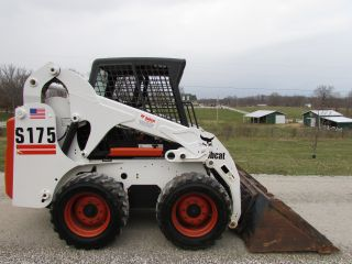 Bobcat S175 Skid Steer Loader / Only 531 Hours / photo