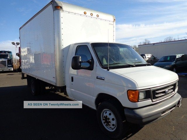 2006 ford e450 16ft box truck turbo diesel. Black Bedroom Furniture Sets. Home Design Ideas