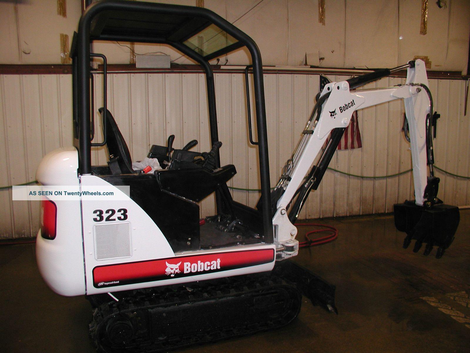2006 Bobcat 323 J Series Mini Excavator Excavators photo