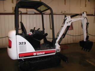 2006 Bobcat 323 J Series Mini Excavator photo