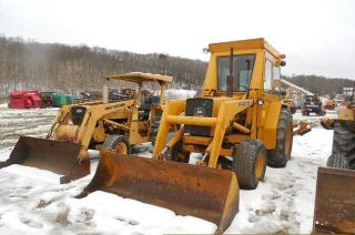 John Deere Jd500c Backhoe Loader photo