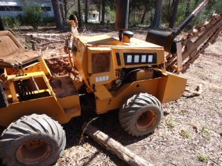 Case 360 Trencher Backhoe Ditch Witch photo