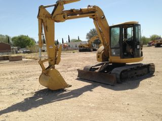 Caterpillar 308b Hydraulic Excavator Crawler Tractor Dozer Loader 308 B Cab photo