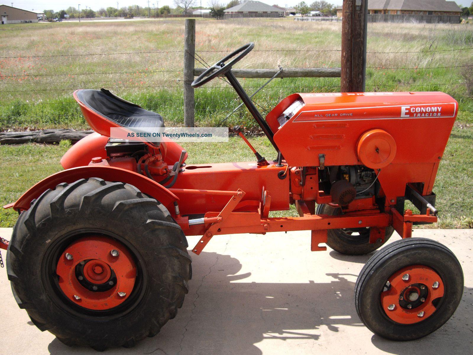 Power King Tractor Hp Kohler Engine Lk Lgw