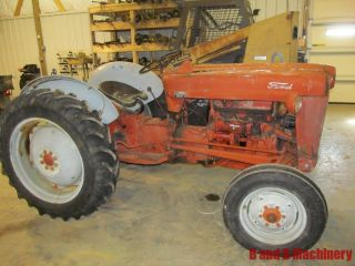 Ford Jubilee Farm Agriculture Tractor photo
