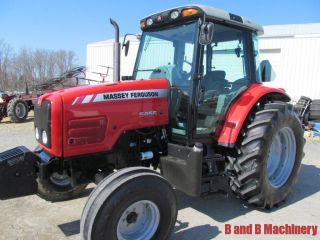 Massey Ferguson 5455 Diesel Farm Tractor Cab 1 Owner 562 Hours photo