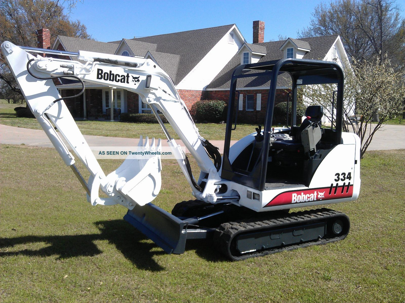 Bobcat 334 Compact Mini - Excavator Ready To Go Kubota Engine Excavators photo