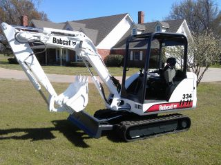 Bobcat 334 Compact Mini - Excavator Ready To Go Kubota Engine photo