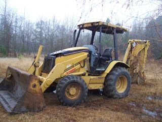 Caterpillar 416d Backhoe photo