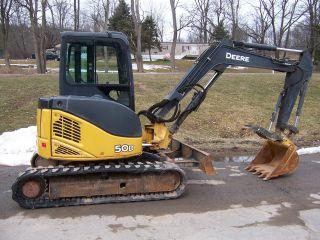 John Deere 50d Excavator photo