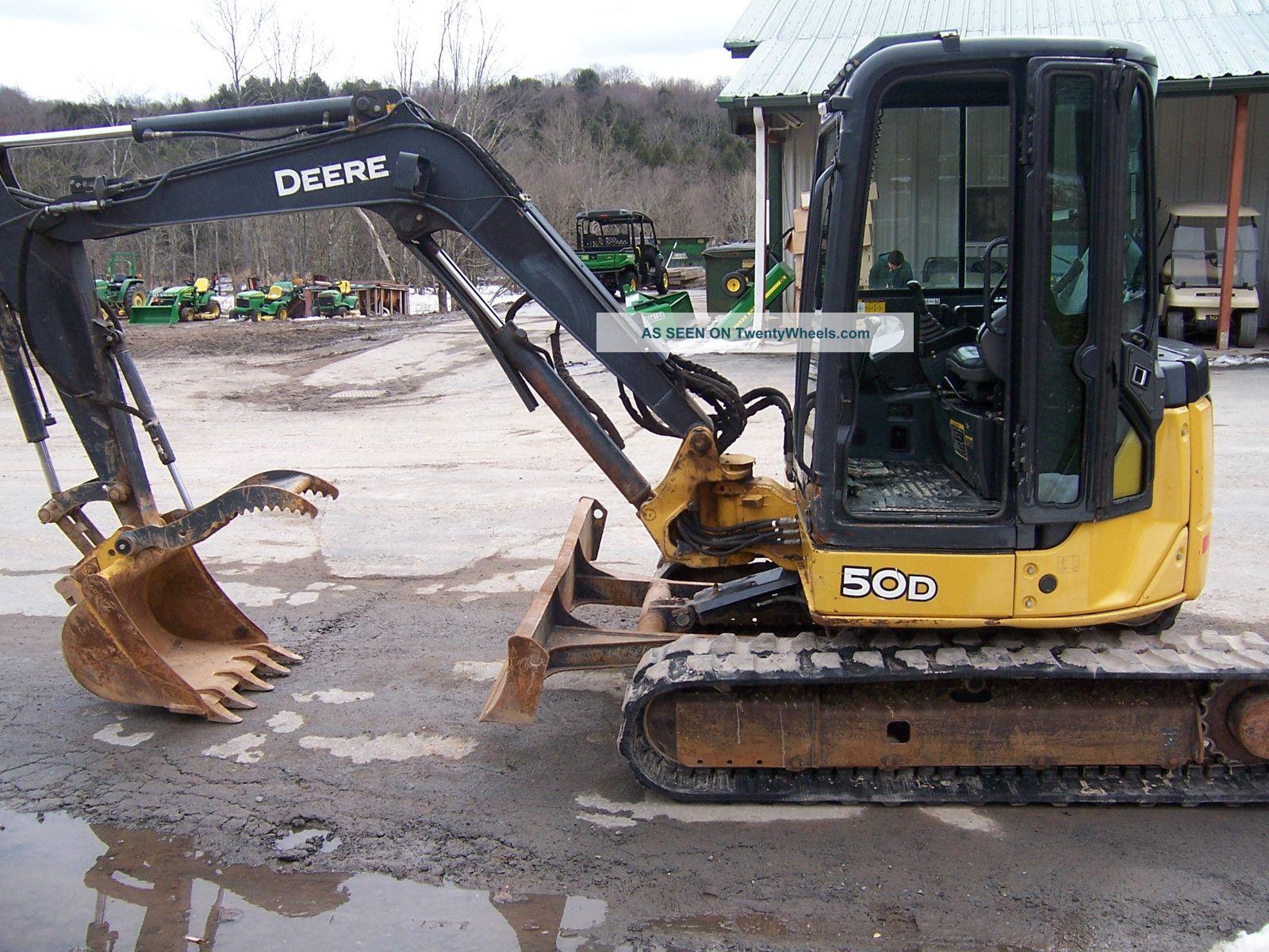 John Deere 245 Excavator Specs : John deere d excavator bing images